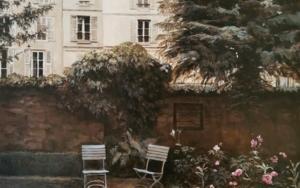Paris-Museo Delacroix (jardin)|PinturadeCarmen Nieto| Compra arte en Flecha.es
