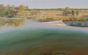Ribera del Duero en pesqueruela|PinturadeIgnacio Mateos| Compra arte en Flecha.es