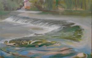 Ribera del Duero, Villanueva de Duero PinturadeIgnacio Mateos  Compra arte en Flecha.es