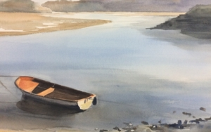 Marea baja Isla|PinturadeChela Grijelmo| Compra arte en Flecha.es