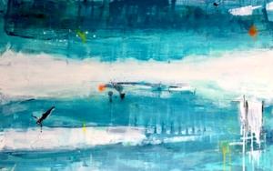 DIVE IN|PinturadeErika Nolte| Compra arte en Flecha.es