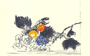 A propósito de Caravaggio. Cesta con frutas|DibujodeAlberto Corazón| Compra arte en Flecha.es