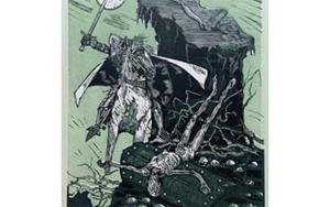 El Testamento de Don Quijote (III)|DibujodeFrançois Marechal| Compra arte en Flecha.es