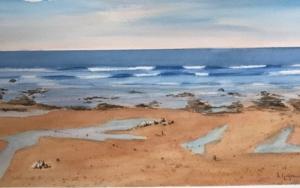 Marea baja 2 Sopelana|PinturadeChela Grijelmo| Compra arte en Flecha.es