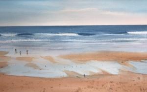 Marea baja 3 Sopelana|PinturadeChela Grijelmo| Compra arte en Flecha.es