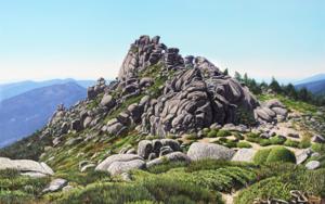 La Sierra del Dragón|PinturadeJavier Ramos Julián| Compra arte en Flecha.es