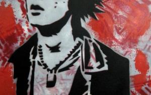 Sid Vicious III Obra gráficadeCarlos Madriz  Compra arte en Flecha.es