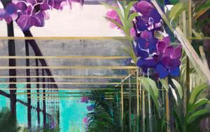 Partitura floral PinturadeCarmen Montero  Compra arte en Flecha.es