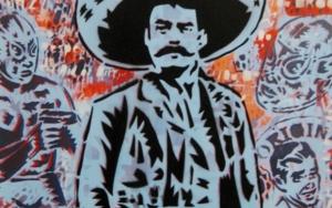 Zapata III Obra gráficadeCarlos Madriz  Compra arte en Flecha.es
