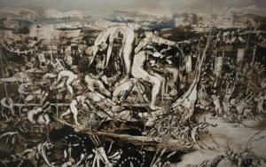 la vendimia|PinturadeJose Benitez Montilla| Compra arte en Flecha.es