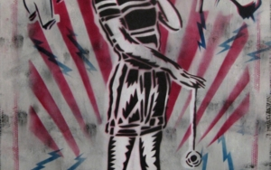 La Panchi|IlustracióndeCarlos Madriz| Compra arte en Flecha.es