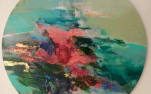 Blossom on the Water|PinturadeMagdalena Morey| Compra arte en Flecha.es