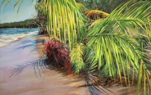 Tumbada en la orilla|PinturadeMaría Durá| Compra arte en Flecha.es