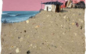 Atardeciendo sobre la playa|CollagedeEduardo Query| Compra arte en Flecha.es