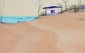 Una playa cálida|CollagedeEduardo Query| Compra arte en Flecha.es