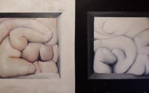 Sólidos y Blandos. Blanco y Negro|PinturadeVíctor Bayonas| Compra arte en Flecha.es