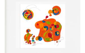 Curvisme  house|IlustracióndeRICHARD MARTIN| Compra arte en Flecha.es