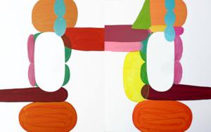 Flowerman|PinturadeSergi Clavé| Compra arte en Flecha.es