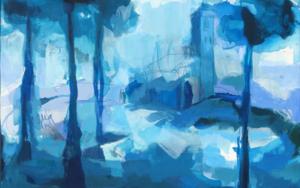 Plaza Nueva|PinturadeMarta Aguirre| Compra arte en Flecha.es