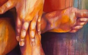 Serie Cuerpos Color|PinturadeAle Feijó| Compra arte en Flecha.es