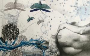 Mixtura de cuerpos III CollagedeAle Feijó  Compra arte en Flecha.es