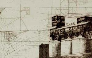 Granero San Obra gráficadeWenceslao Robles  Compra arte en Flecha.es