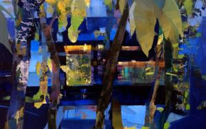 Luces de neón|PinturadeCarmen Montero| Compra arte en Flecha.es