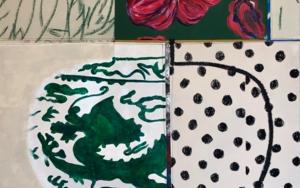 Floral Arrangement n.10|PinturadeNadia Jaber| Compra arte en Flecha.es