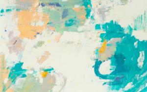 Abstracción en verdes II|PinturadeSusana Sancho| Compra arte en Flecha.es