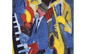 Jazz cuarteto I.|Obra gráficadeJenifer Carey| Compra arte en Flecha.es