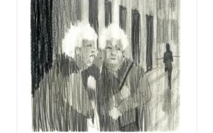 Cuchicheos R.I.P.|DibujodeIgnacio Lobera| Compra arte en Flecha.es