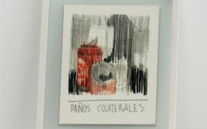 Daños colaterales|DibujodeIgnacio Lobera| Compra arte en Flecha.es