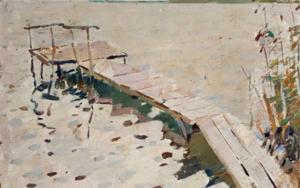 Pitch|PinturadeShponko Gregori Andreevich| Compra arte en Flecha.es