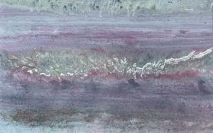 Composición gris morada PinturadeEnric Correa  Compra arte en Flecha.es
