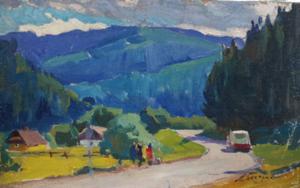 Mountain Landscape|PinturadeBessaraba Leonid Pavlovich| Compra arte en Flecha.es
