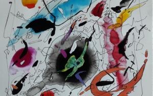 PIANO CONCERTO NO 2 II LARGHETTO|PinturadeValeriano Cortázar| Compra arte en Flecha.es