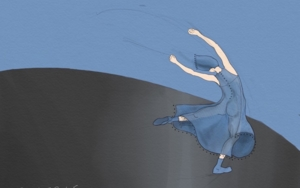 Mujer danzando 1|DigitaldeLola Barcia Albacar| Compra arte en Flecha.es
