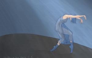 Mujer danzando 2|DigitaldeLola Barcia Albacar| Compra arte en Flecha.es