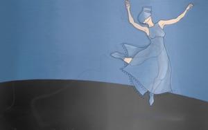 Mujer danzanndo 3|DigitaldeLola Barcia Albacar| Compra arte en Flecha.es