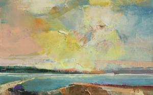 Glowing Skies 1|PinturadeMagdalena Morey| Compra arte en Flecha.es