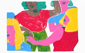 Estem vives|IlustracióndeMar Estrama| Compra arte en Flecha.es