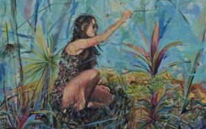 Mi Flor 2020 PinturadeAmaya Fernández Fariza  Compra arte en Flecha.es