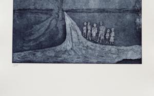 Esperando a los Reyes Magos|Obra gráficadeAna Valenciano| Compra arte en Flecha.es