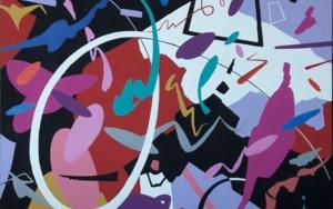 ADAGIO - Johann Sebastian Bach|PinturadeValeriano Cortázar| Compra arte en Flecha.es