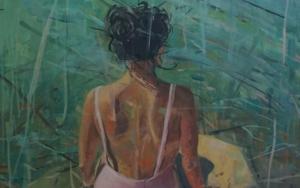 La bañista|PinturadeAmaya Fernández Fariza| Compra arte en Flecha.es