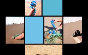 Cuerpo raro en azul celeste 1 DigitaldeLisa  Compra arte en Flecha.es