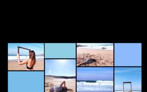 Cuerpo raro en azul celeste #2|DigitaldeLisa| Compra arte en Flecha.es
