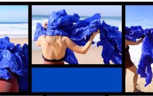 Cuerpo raro en azul cobalto|DigitaldeLisa| Compra arte en Flecha.es