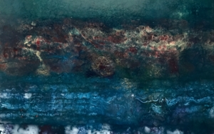 Deep blue|PinturadeEnric Correa| Compra arte en Flecha.es