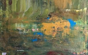 Paisaje abstracto PinturadeEnric Correa  Compra arte en Flecha.es